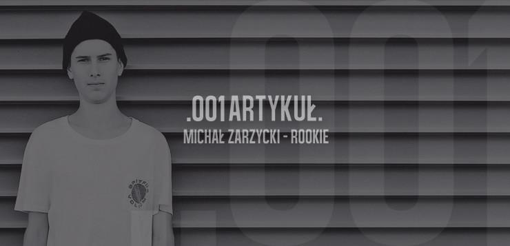 Michał Zarzycki – Rookie – Barrier Issue7.