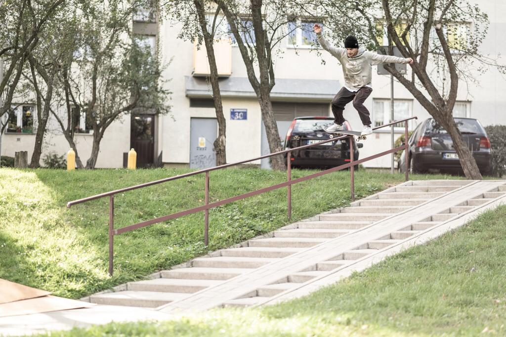 Kuba Brniak / boardslide / Warszawa