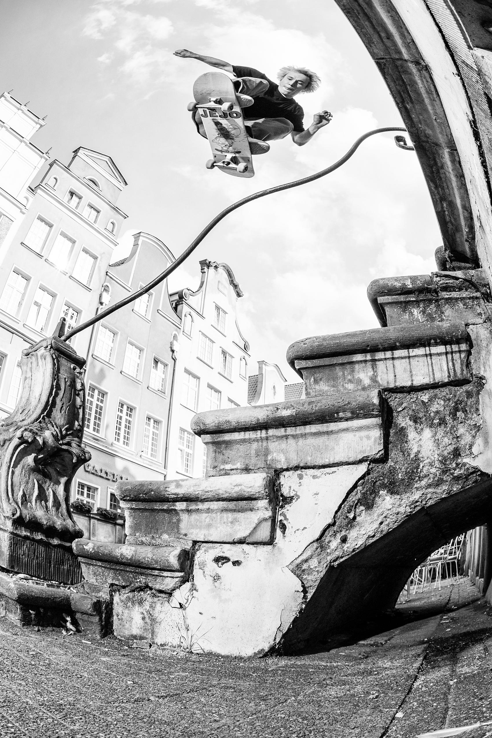 Bs ollie / Gdańsk / foto: Kuba Bączkowski